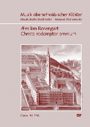 Æmilian Rosengart: Christe redemptor omnium