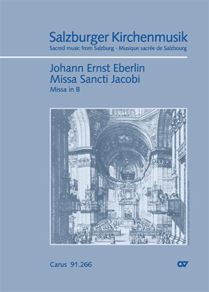 Johann Ernst Eberlin: Missa Sancti Jacobi in B