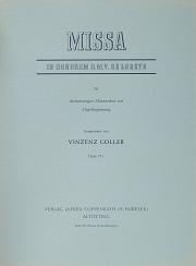 Vincenz Goller: Loreto-Messe
