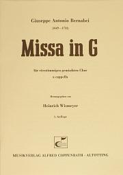 Giuseppe Antonio Bernabei: Missa in G