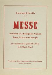 Eberhard Bonitz: Messe
