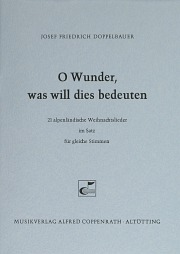 Alpenländische Weihnachtslieder Noten.Gleiche Stimmen Carus Verlag Seite 162