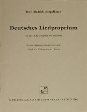 Josef Friedrich Doppelbauer: Deutsches Liedproprium