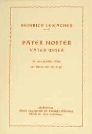Heinrich Lemacher: Pater noster