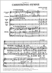 Fritz Goller: Christkönigs-Hymne