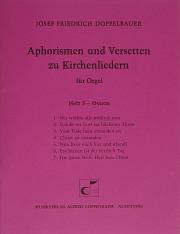 Doppelabauer, Aphorismen und Versetten zu Kirchenliedern Heft V: Ostern