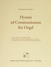 Schroeder, Hymni ad Communionem für Orgel