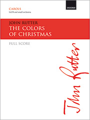 John Rutter: The Colors of Christmas