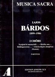 Bárdos: Zwei Sätze für gemischten Chor