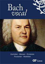 Carus-Verlag Stuttgart: Bach vocal
