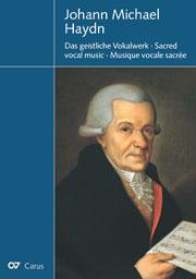 Carus-Verlag Stuttgart: Katalog: Johann Michael Haydn